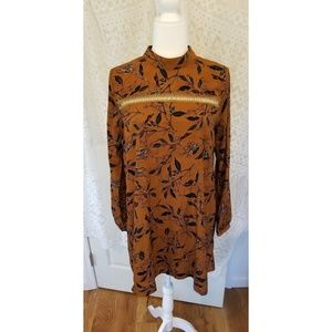Altar'd State Long Sleeve Dress Size M